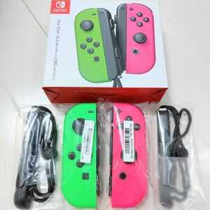 ニンテンドースイッチ ジョイコン ネオンピンク ネオングリーン Nintendo Switch Joy-Con 任天堂 リモコン