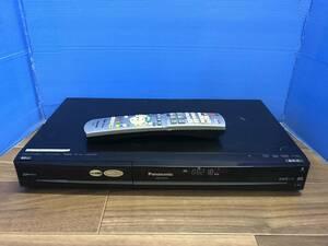 パナソニック DVD/HDDレコーダー DMR-XW120 リモコン付 中古品B-1557