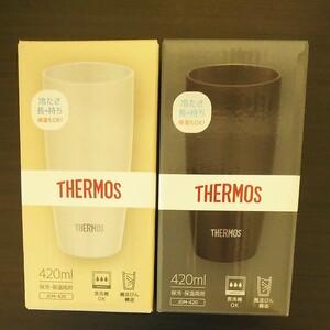 サーモス真空断熱タンブラー2個セット。