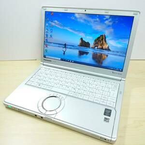 【美品・新品SSD256GB+メモリ8GB】 Panasonic Let'snote CF-SX4EDHCS Corei5-5300U/Windows10/webカメラ/office互換ソフト/DVDドライブ