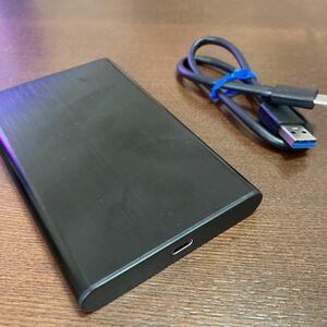 外付けハードディスク ポータブルハードディスク 外付けHDD 500GB