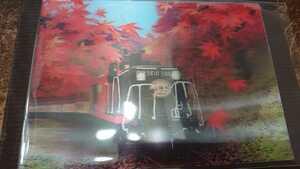 3Dポストカード 嵯峨野機関車