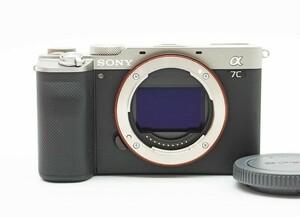 ◇美品【SONY ソニー】α7C ボディ / シャッター回数:45回 ILCE-7C ミラーレス一眼カメラ