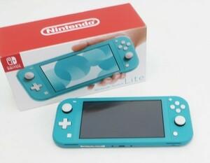 ○【任天堂】Nintendo Switch Lite/ニンテンドースイッチライト本体 HDH-S-BAZAA ターコイズ