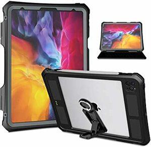 ブラック 11インチ(2020) iPad pro11防水ケース2020春発売 アイパッドプロカバー11インチ IP68防水規格