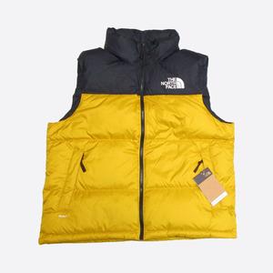 ★日本未発売★The North Face/ノースフェイス★1996 Retro Nuptse Vest/1996レトロヌプシベスト (Arrowwood Yellow/L)