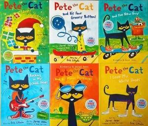 英語絵本 Pete the cat 大きな絵本 6冊セット