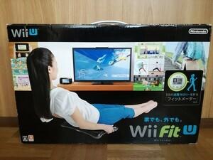 ■送料無料 即決 Wii Fit U ソフト メーター付 セット Nintendo Wiiフィット■