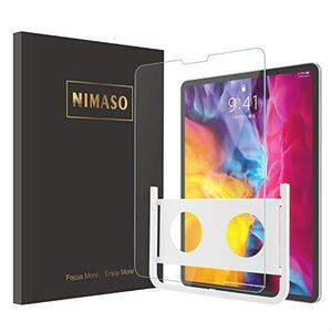 お得 【ガイド枠付き】Nimaso iPad Pro 11 ガラスフィルム 2020 第二世代 / 2018 第一世代 液晶保護フィルム【1枚セット】 ★在庫限り★