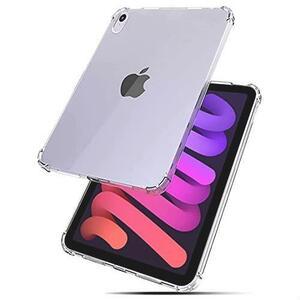 良品特価 For iPad mini 6 耐衝撃 ケース 薄型 衝撃吸収 耐衝撃 柔らかい手触り 2021年版iPad mini 6専用 カバー 米軍MIL規格 クリア