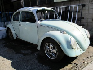 Volkswagen TYPE-1 type 1 Beetle 1966 year base car body and so on .. dealer car VW VOLKSWAGEN air cooling Beetle air cooling Volkswagen rare