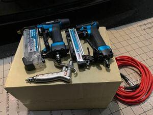 マキタ 高圧仕上釘打機AF551H 4mm高圧エアタッカAT 425HB 中古品 オマケ付