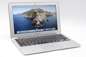 【薄型・i5】Apple/MacBook Air A1465(11-inch,Mid 2012)/core i5-1.7GHz/メモリ:4GB/SSD:128GB:充放電回数:43