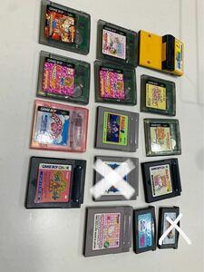ゲームボーイ、カラー、アドバンス、ソフト、カセット