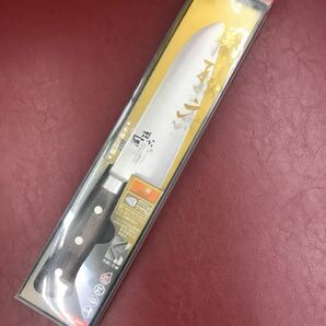 ★送料無料★ 貝印 関孫六 ステンレス 木蓮三層鋼本割込 三徳包丁165mm口金付本通し柄 KAIGOLD鋼