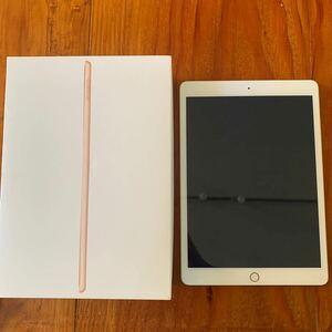 iPad 第8世代 128GB 2020秋モデル ゴールド Wi-Fiモデル フィルム貼付済