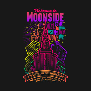 【Tシャツ】 『Welcome to Moonside』 MOTHER2 S/M/L/XL/90/100/110/120/130/140/150/160