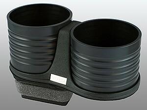 【ALCABO/アルカボ】 ドリンクホルダー ブラック カップ タイプ AUDI(アウディ) A3 Series 8P [AL-A202B]