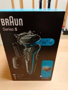 BRAUN ブラウン 密着シリーズ5 充電式シェーバー 50-B7000cc 新品未開封 洗浄器付きモデル