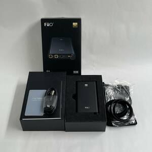 【中古 超美品】Fiio FIO-Q3 ブラック ハイレゾ対応 ポータブルヘッドホンアンプ