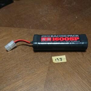 178 170 タミヤ 7.2V レーシングパック 1600sp ラジコン バッテリー ニッカド 電池 1600mAh ドリフト