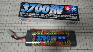 タミヤ ラジコン バッテリー ニッケル水素 アドバンスパック 3700HV