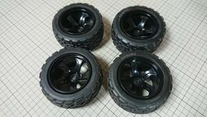 タミヤ タイヤ ホイール4本セット ワイルドウィリー2 ラジコン ランチボックス