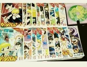 DVD  レンタル落ち ケースなし  アニメ  金色のガッシュベル!! 1期 全50話 と 劇場版2作