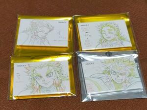 鬼滅の刃 無限列車編 煉獄杏寿郎 原画コレクションスクエア缶バッジセット