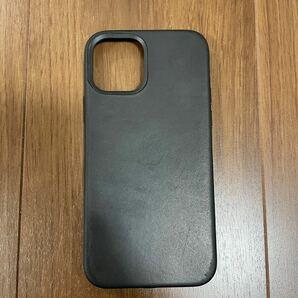 Apple iPhone 12 Pro レザーケース MagSafe ブラック