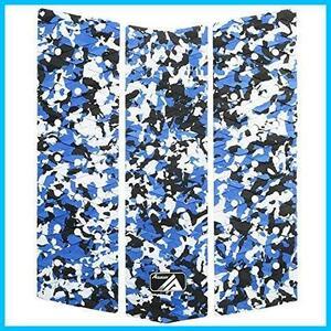 【即決】★色:ブルー青い★ BLACK FRONT DECK デッキパッド スリー HU-107 DECKPAD FOR フロントデッキ 迷彩 SURBOARD 3