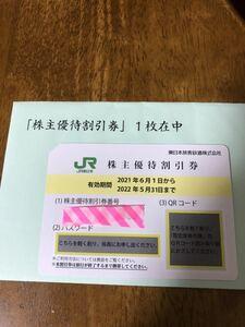 【送料無料】JR東日本株主優待割引券1枚、株主サービス券1枚セット