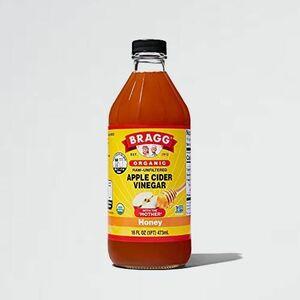 好評 新品 オ-ガニック Bragg 5-HT 日本正規品 (473ml) アップルサイダ-ビネガ- ハニ-ブレンド りんご酢飲料