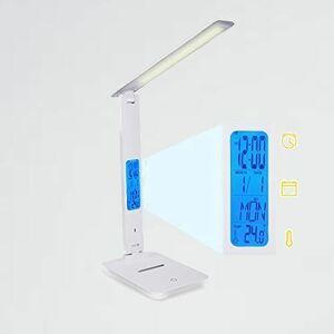 新品 未使用ライト デスクライト V-Q9 目覚まし時計 日本語取扱説明書付き テ-ブルランプ ledデスクライト