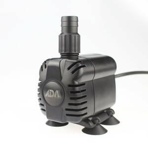 ADA 小型水中ポンプ 10W 水族館給水・排水ポンプ 吐出量900L/H 最大揚程1.2M 水槽水循環ポンプ 静音 A89