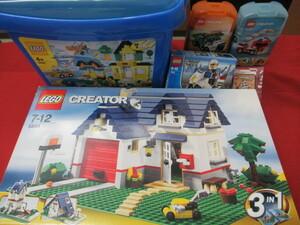 k【13199】★ LEGO レゴクリエーター レゴブロック ★ 3IN1 消防車 ポリス 剣道 男の子 おもちゃ ★ 5508 5891 7235 5865 6911 中古品