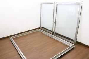 ◆S7719◆YKKap◆窓・サッシ◆引違い窓◆フレミング◆ペアガラス◆施工外し品◆引取限定◆建材