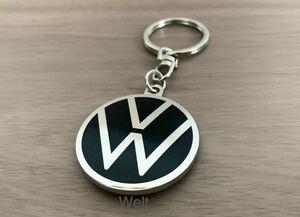VW 純正品 エンブレム キーリング ゴルフ8 ゴルフ7.5 GTI ポロ トゥーラン ティグアン ザ・ビートル アルテオン パサート T-Cross T-Roc up