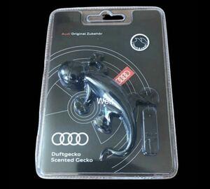 アウディ 純正 ゲッコー エアフレッシュナー ブラック 芳香剤 Audi quattro A1 A3 A4 A5 A6A7A8 Q2 Q3 Q5 Q7Q8 TT R8 RS4 RS5 フレグランス