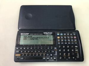 X2-W2 [ жидкокристаллический индикация неисправна ] sharp карманный компьютер PC-G850V