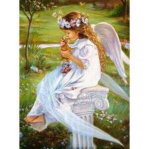クロスステッチキット クロスステッチ 刺繍キット 刺繍 ハンドメイド 天使