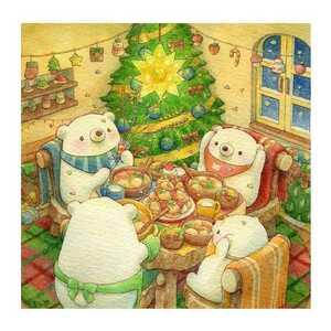 クロスステッチキット クロスステッチ クリスマス インテリア 手芸 刺繍キット