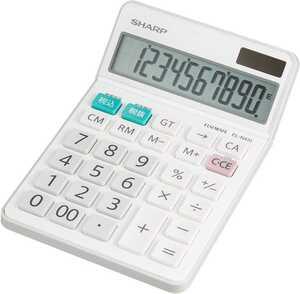 送料無料 シャープ 電卓 シャープ ナイスサイズタイプ 10桁 EL-N431-X