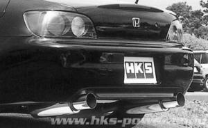 自動車関連業者直送限定 HKS Silent Hi-Power サイレントハイパワー マフラー HONDA ホンダ S2000 AP2 F22C 05/11-09/09 (32016-AH004)