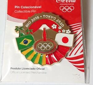 東京オリンピック コカ・コーラ ピンバッジ