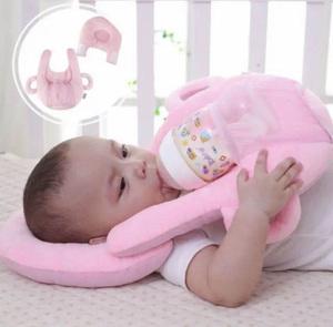 授乳 新生児 赤ちゃん サポートミルクまくら クッション ピンク色