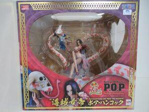 ワンピース POP P.O.P Portrait.Of.Pirates NEO-MAXIMUM 海賊女帝 ボア・ハンコック 新品未開封品 正規品 メガハウス フィギュア