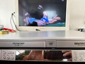 Panasonic★動作良好★簡単ダビング VHS+DVDレコーダー★DMR-E70V