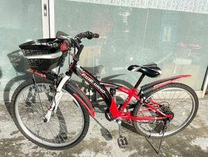 マルキン marukin 子供用自転車 24インチ マウンテンバイク 直接引取り可 岐阜垂井町