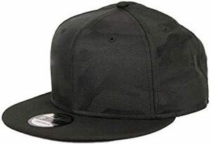 1.ブラックカモ/ブラック Free Size ニューエラ キャップ 無地 カモ 迷彩 メンズ 9FIFTY New Era 帽